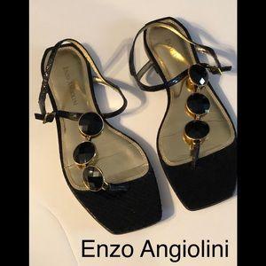 Enzo Angiolini  leather sandal size 8